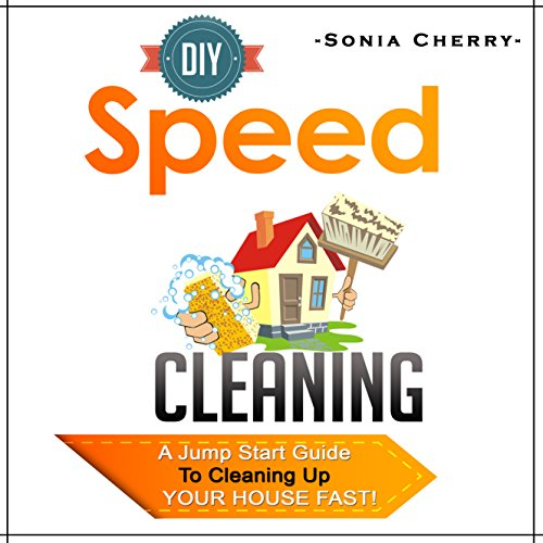 DIY Speed Cleaning audiobook cover art