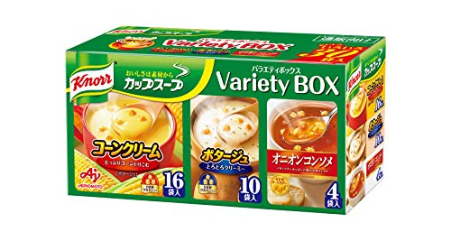 Knorr Japan Cup Suppe Soup Variety box 30 bags