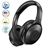 Best Bluetooth Headphones With Microphones - Mpow Active Noise Cancelling Headphones with Microphones, [2020 Review