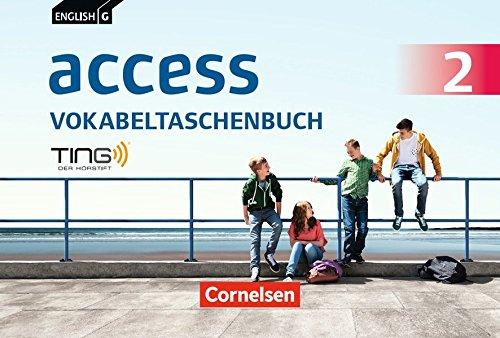 English G Access - Allgemeine Ausgabe und Baden-Württemberg: Band 2: 6. Schuljahr - Vokabeltaschenbuch