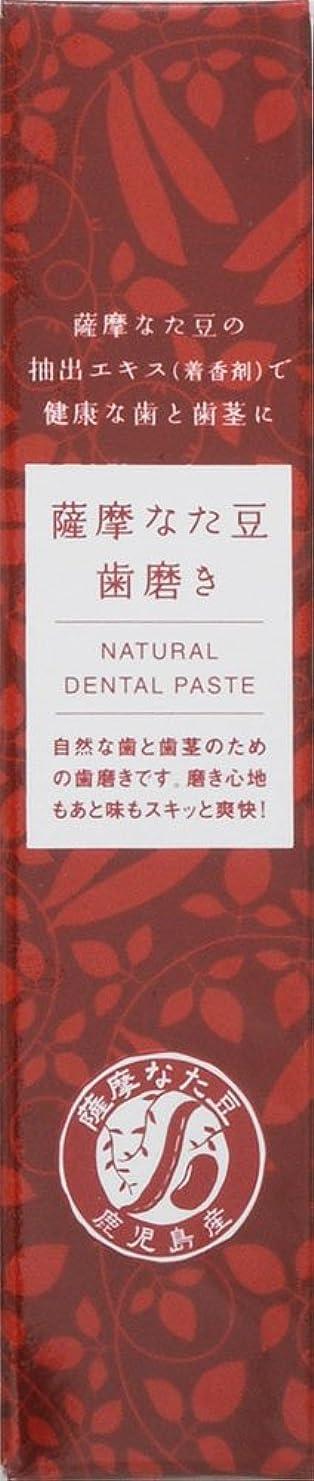 折レンジナット薩摩なた豆歯磨き 55G