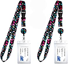 2-Pack Cruise Lanyard & Waterproof ID Key Card Holder Clip. Matching Retractable Badge Reel. Bonus Travel Organizer Bag. Essential Cruise Ship Accessories. Bubbly Color Dots