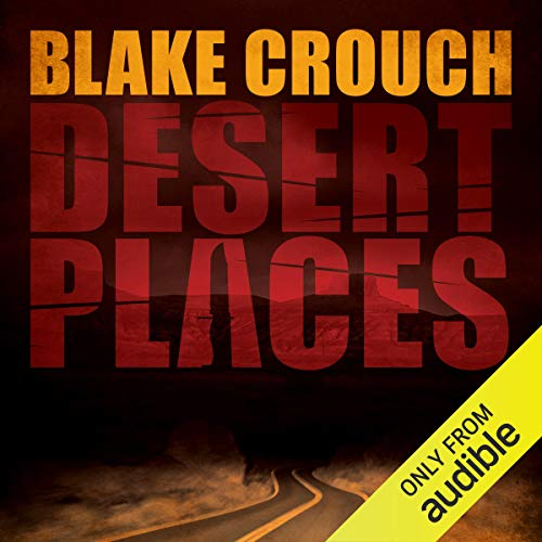 Desert Places audiobook cover art