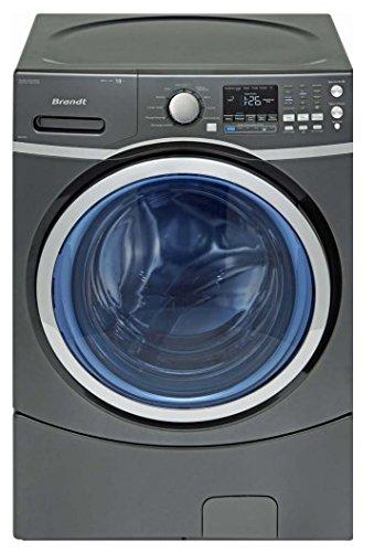 Brandt BWF618DS Libera installazione Caricamento frontale 18kg 1300Giri/min A++ Nero lavatrice