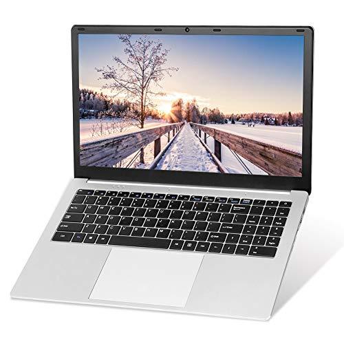 Intel J3455 Quad Core CPU, 15,6 Zoll Laptop Notebook Computer PC, Windows 10 Pro Betriebssystem, 8 GB RAM, 128 GB SSD, Full HD 1920 x 1080, Modisch und Ultradünn, U2