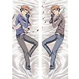 Anime Ouran High School Host Club Dakimakura - Cosplay Hugging Body Throw Pillow Cover Bedding Pillowcase Soft Case for Home Sofa Living Room Bedroom Indoor for The Otaku 20' x 54'
