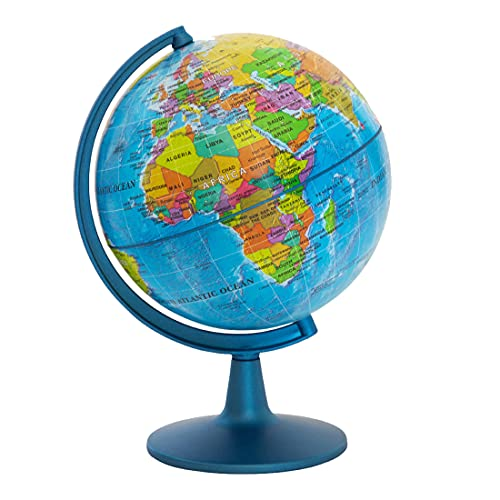 Waypoint Geographic GeoClassic Globe - 6' (10cm) Blue Ocean with UP-TO-DATE Cartography - 100's of...