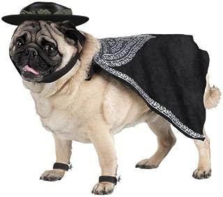 WMU Zorro Pet Costume Size Large