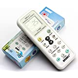 NEFUSI エアコン汎用リモコン 各社共通1000種対応 エアコン用ユニバーサルマルチリモコン 自動検索機能も搭載!!-520012 K-1028E 日本説明書付