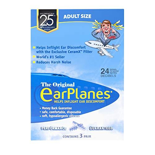 EarPlanes Earplugs (Pack of 3)
