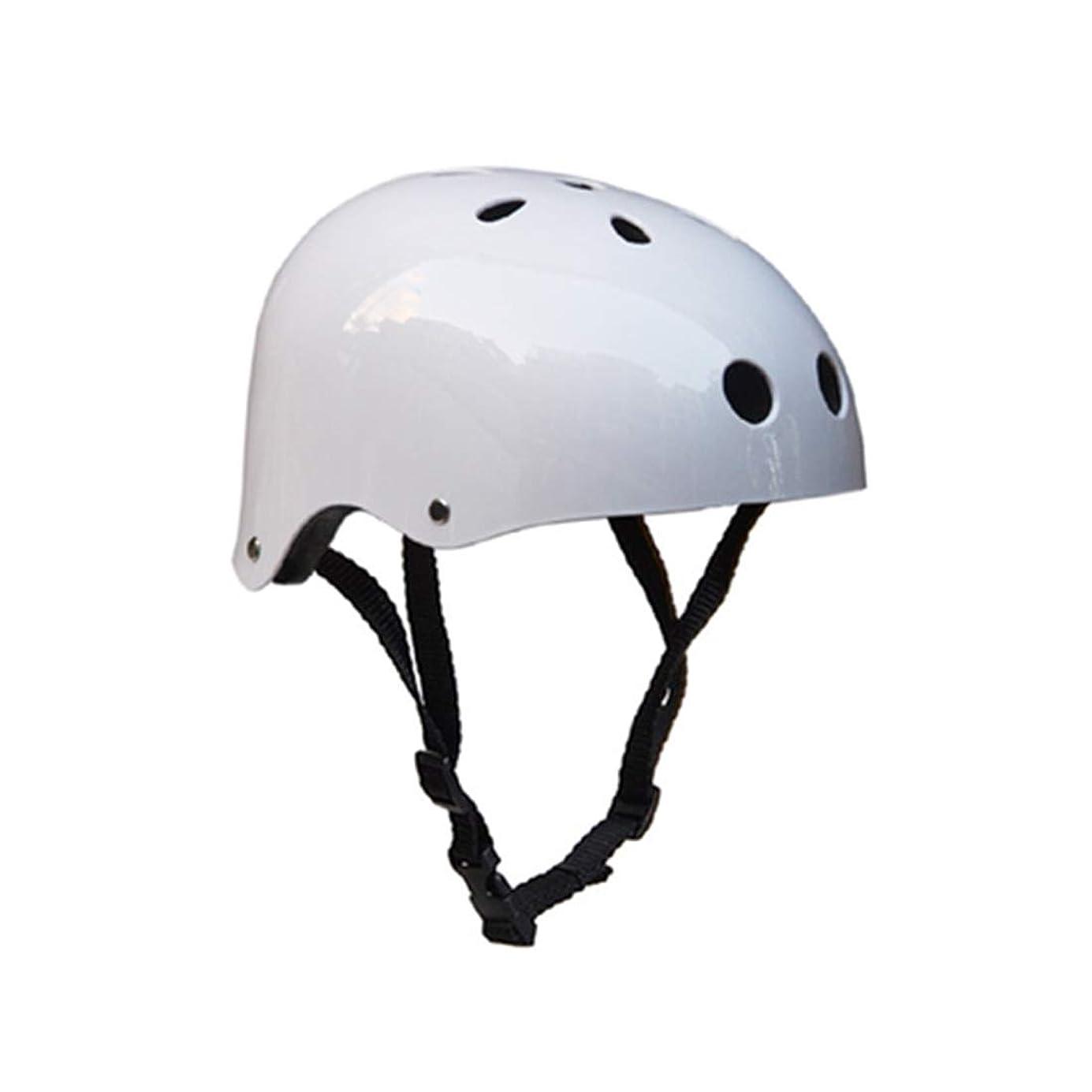 型不利候補者WTYDアウトドアツール クライミング機器安全ヘルメット洞窟レスキュー子供大人用ヘルメット開発アウトドアハイキングスキー用品適切な頭囲:54-57cm、サイズ:M 自転車の部品