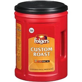 Fresh Taste of Folgers Coffee Custom Roast Ground Coffee Mild Flavor 48 Oz Canister -  1 pk