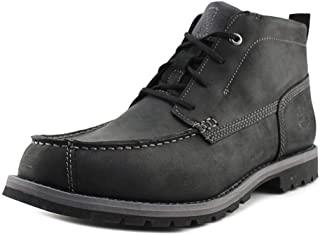 Mens Grantly Mountain Leather Closed Toe Ankle, Black, Size 10.5