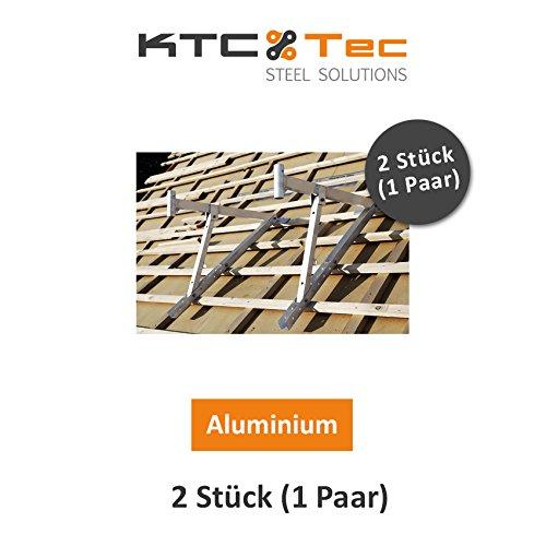 Dakstandaard, dakbok, dakbedekker, dakframe, aluminium steiger, aluminium of staal