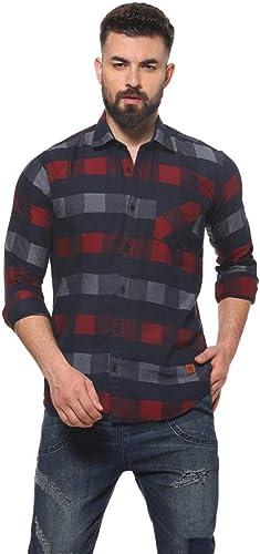 Men S Regular Fit Casual Shirt