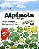 Alpinola Lozenges With Menthol, Essential Oils & Vit C, Sugar Free, 17Count