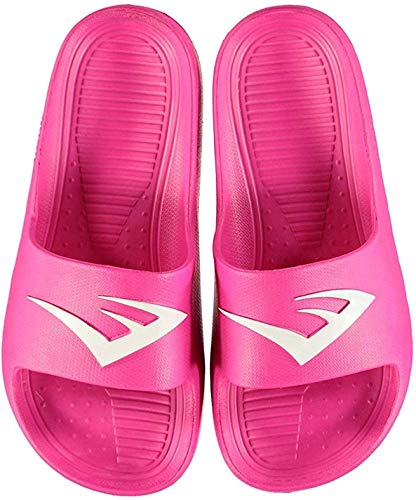 Everlast - Scarpe da piscina per bambini, comode, Rosa (rosa), 19 EU