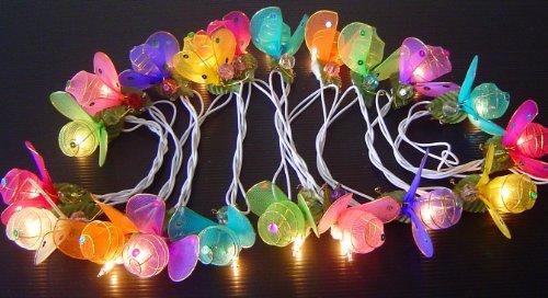 Mixed Colour Lady Bug Lady Bird Fairy Light String