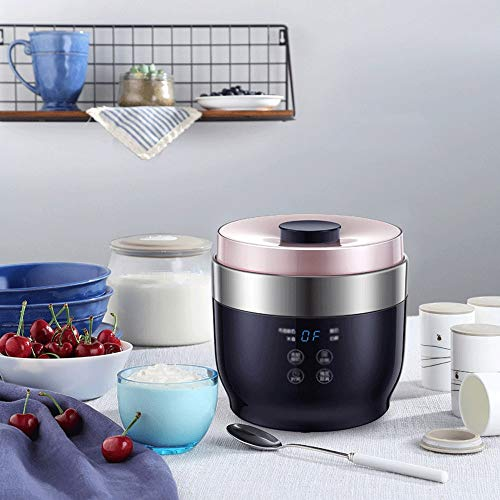 Find Discount Marceooselm 4 Split Cup Constant Temperature Fermentation Rice Wine Cheese Yogurt Mach...