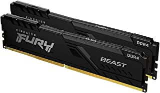 Kingston FURY Beast 16 GB (2x8 GB) 3200 MHz DDR4 CL16 Desktop Memory Kit van 2 KF432C16BBK2/16