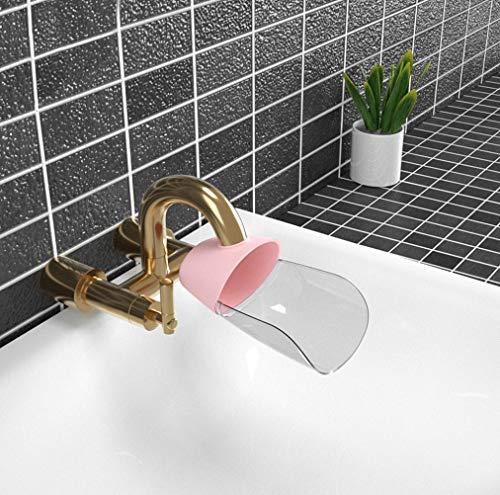 Dartphew Kitchen Bathroom Faucet Extender Sink Handle Extender Child Washing Easily Safe Fun Hand-Washing Solution for Babies Toddlers Kids Teach Your Kids Good Sanitation Habits
