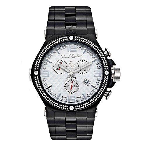 Joe Rodeo diamond reloj - Phantom negro 2.25 CTW
