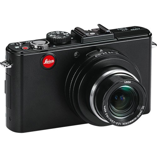 """Leica D-LUX5 10.1 MP Compact Digital Camera with Super-Fast f/2.0 Lens, 3.8x Zoom Lens, 3"""" LCD Display, O.I.S. Image Stabilization (Black)"""