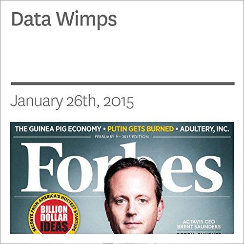 Data Wimps audiobook cover art