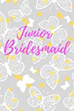 Junior Bridesmaid: Cute Junior Bridesmaid Gift- Keepsake Diary for Wedding Party, Lists, Notes and Journaling