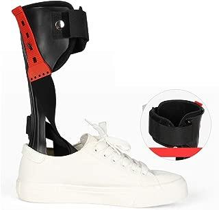 GHzzY AFO Brace - Apoyo para la ortesis del pie del Tobillo para la caída del pie, la Fascitis Plantar y la tendinitis de Aquiles - Soporte de corrección postural del pie caído,Right,L