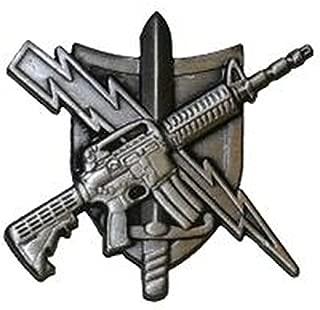 UNIFORM INSIGNIA Tactical Patrol Officer Pin - Center Mass - Basic - Antique Silver