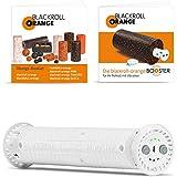 Blackroll Orange Booster - der Vibrationskern für 30 cm Faszienrollen - für intensiveres Faszientraining & Übungsbooklet
