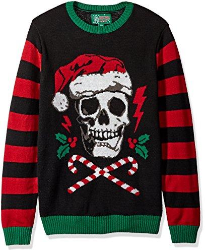 Goth Christmas Sweater Men's