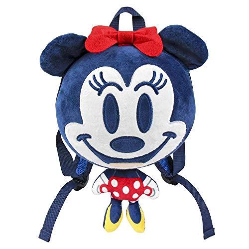 Artesania Cerda Mochila Guarderia 3d Minnie Zainetto per bambini, 30 cm, Blu (Azul)
