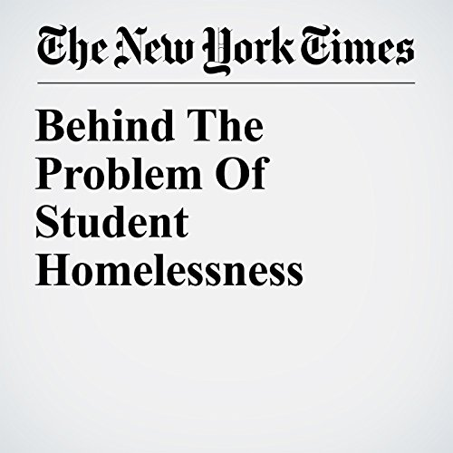 Behind The Problem Of Student Homelessness copertina