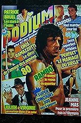PODIUM n°164 Rambo Jeanne Mas Bruel Ramazotti J Clerc - Posters voir détail - 1985 10