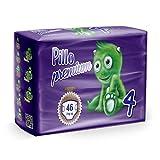 Pannolini Pillo Junior Taglia 5 (11 kg - 25 kg) Premium Dryway, 160 pannolini, 4 X 40 (4)