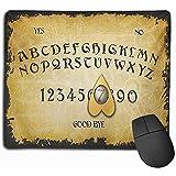 Gaming Mouse Pad, Schreibtisch Mousepad, Maus Matte Feuer Ouija Brettspiel Herz Tastatur Geist Spiritismus Symbol Sprechen