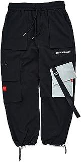 Aelfric Eden Harajuku Men's Simple Streetwear Cargo Pants, Casual Sports Joggers Pant Street Young Cool