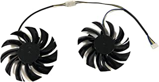 75MM PLD08010S12HH MSI用 Twin Frozr II R6790 R6850 N460GTX N570GTX GTX580 VGA GPU Graphics Card Fan 冷却パーツ・ファン グラフィックカードファン ...