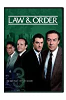 Law & Order: The Third Year [DVD] [Import]