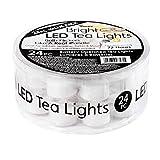 Darice 6204-69 Box Led Tea Lights, White