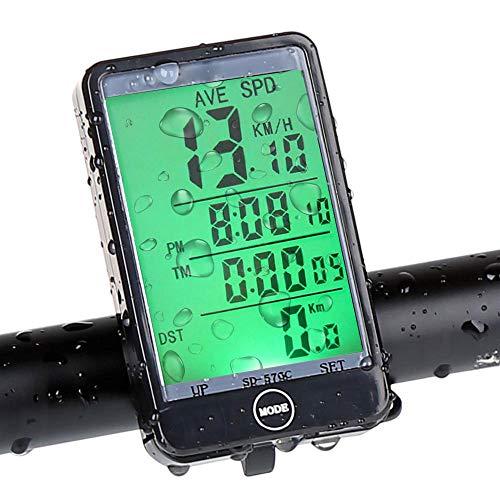 Sonolife - Computadora para Bicicleta con Odómetro y Velocímetro Resistente al Agua Ciclismo
