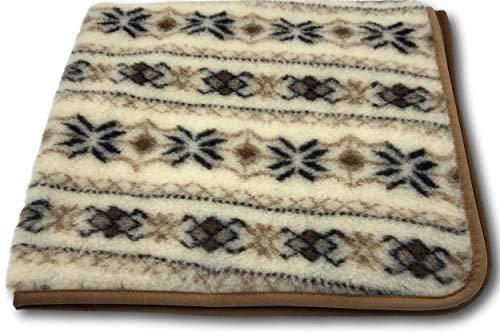 AlpenWoll, coperta in lana Norvegia, tutte le misure, 100% lana (240 x 200)