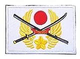 Japan Flag Embroidery...image
