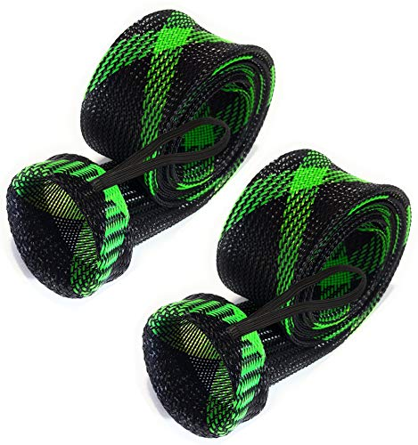 Reaction Tackle Rod Sock Black/Green (Point-Cast-5)