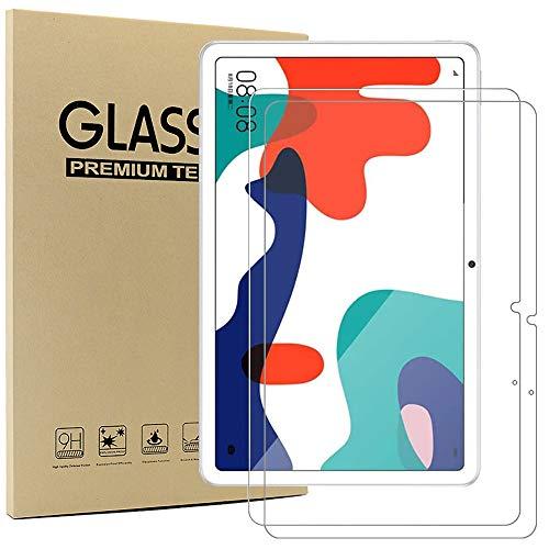 Msm-case [2 Pack] Kompatibel mit Huawei MatePad 26,4 cm (10,4 Zoll) 2020 Tablet – [3D abger&ete Kanten] [9H Festigkeit] [kristallklar] [kratzfest], klar