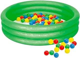 Piscina Infantil Mor Inflavel com 100 Bolinhas 130L - Verde