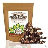 POUDRE de CACAO BIO - Végétalien ingrédient chocolat noir - Sans sucre - pour votre plaisir de cuisiner et vos smoothies (500g)