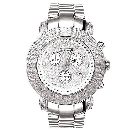 Joe Rodeo diamond reloj - Junior plata 3.3 CTW